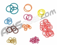 ANS Complete Colored O-Ring Kit 3x Rebuild (Bag) - SP Shocker RSX
