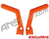 ANS X5 Aluminum Eye Covers - Sunburst Orange