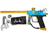 Azodin Blitz 3 Paintball Gun - Blue/Gold