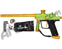 Azodin Blitz 3 Paintball Gun - Green/Gold