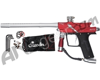Azodin Blitz 3 Paintball Gun - Red/Silver