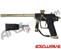 Azodin Blitz 4 Paintball Gun - Dust Black/Polished Gold