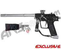 Azodin Blitz 4 Paintball Gun - Dust Black/Polished Silver
