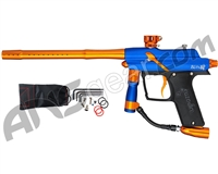 Azodin Blitz 4 Paintball Gun - Dust Blue/Polished Orange