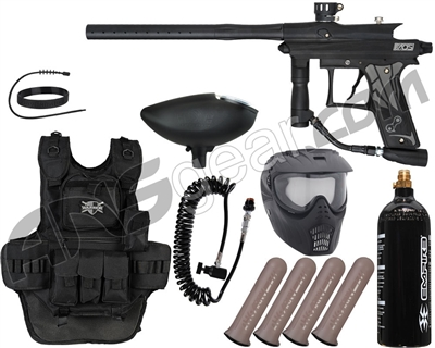 Azodin Kaos 3 Heavy Gunner Paintball Gun Package Kit