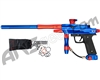 Azodin KDIII Paintball Gun - Polished Blue/Polished Orange-Red