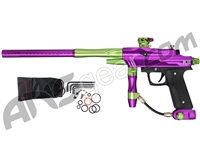 Azodin KDIII Paintball Gun - Polished Purple/Polished Green