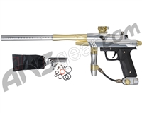 Azodin KDIII Paintball Gun - Polished Silver/Polished Gold