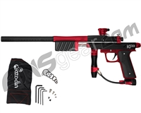 Azodin KP3 SE Kaos Pump Paintball Gun - Dust Black/Polished Red/Dust Red