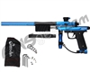 Azodin KP3 SE Kaos Pump Paintball Gun - Dust Blue/Polished Black/Dust Black