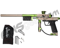Azodin KP3 SE Kaos Pump Paintball Gun - Dust Earth/Polished Green/Dust Black