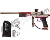 Azodin KP3 SE Kaos Pump Paintball Gun - Dust Earth/Polished Red/Dust Red