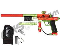 Azodin KP3 SE Kaos Pump Paintball Gun - Dust Orange/Polished Green/Dust Green