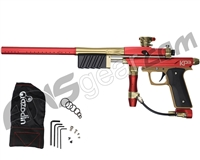 Azodin KP3 SE Kaos Pump Paintball Gun - Red/Gold