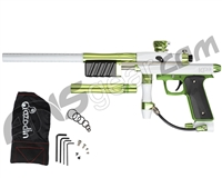 Azodin KP3 SE Kaos Pump Paintball Gun - Polished White/Polished Green/Dust Green