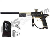 Azodin KP3 SE Kaos Pump Paintball Gun - Dust Black/Polished Gold/Dust Gold