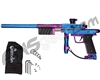 Azodin KP3 SE Kaos Pump Paintball Gun - Dust Blue/Polished Purple/Dust Purple