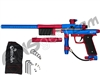 Azodin KP3 SE Kaos Pump Paintball Gun - Dust Blue/Dust Red/Dust Red
