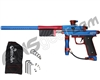 Azodin KP3 SE Kaos Pump Paintball Gun - Dust Blue/Polished Red/Dust Red