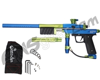 Azodin KP3 Special Edition Kaos Pump Paintball Gun - Blue/Green