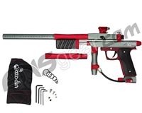 Azodin KP3 Special Edition Kaos Pump Paintball Gun - Titanium/Red