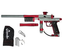 Azodin KP3 SE Kaos Pump Paintball Gun - Dust Titanium/Polished Red/Dust Red