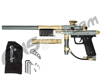 Azodin KP3 Special Edition Kaos Pump Paintball Gun - Titanium/Gold