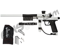 Azodin KP3 SE Kaos Pump Paintball Gun - Polished White/Dust Black/Dust Black