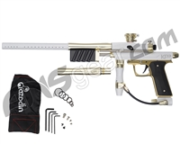 Azodin KP3 Special Edition Kaos Pump Paintball Gun - White/Gold