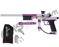 Azodin KP3 SE Kaos Pump Paintball Gun - Polished White/Polished Purple/Dust Purple