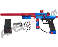 Azodin KPC+ Pump Paintball Gun - Blue/Red