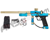 Azodin KPC+ Pump Paintball Gun - Teal/Gold