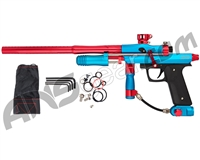 Azodin KPC+ Pump Paintball Gun - Teal/Red