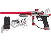 Azodin KPC+ Pump Paintball Gun - Titanium/Red