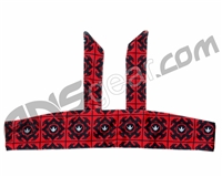 Bnkr Kings Tie Head Band - Royal Red
