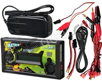 BOL Matrix Battery Balance Charger W/ Power Supply For NiMH/NiCd/Lipo/Li-Ion/PbLead