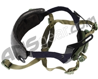 Bravo Airsoft Quick Adjustment Helmet Strap Kit - OD Green