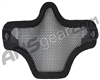 Bravo V1 Strike Steel Half Face Mask - Black