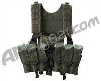 BT Chest Rig Paintball Vest - Olive