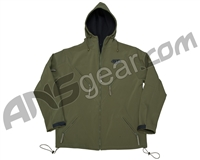 BT ZE Soft Shell Hoodie - Olive
