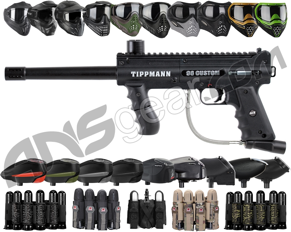 Build Your Own Holiday Bundle Gun Kit - Tippmann 98 PS Ultra Basic