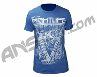Contract Killer Off The Break T-Shirt - Royal