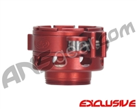 Custom Products CP Angel 1 No-Rise Clamping Feed Neck - Dust Red
