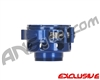 Custom Products CP Mini/Axe No-Rise Clamping Feed Neck - Blue