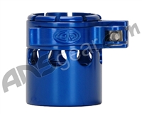 Custom Products Clamping Feed Neck - Autococker 2K Thread - Blue