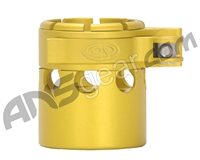 Custom Products Clamping Feed Neck - Autococker 2K Thread - Dust Yellow