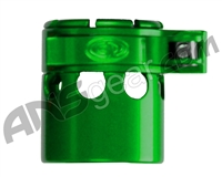 Custom Products Clamping Feed Neck - Autococker 2K Thread - Green