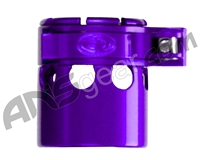Custom Products Clamping Feed Neck - Autococker 2K Thread - Purple