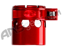 Custom Products Clamping Feed Neck - Autococker 2K Thread - Red