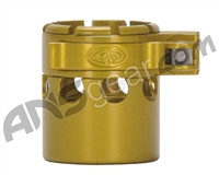 Custom Products Clamping Feed Neck - Autococker 2K Thread - Yellow